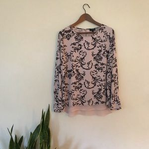 The Limited long sleeve blouse *NWT*